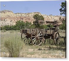 Ghost Ranch Acrylic Print by Mary Rogers
