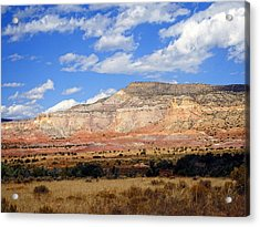 Acrylic Print featuring the photograph Ghost Ranch New Mexico by Kurt Van Wagner