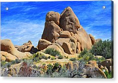 Acrylic Print featuring the photograph Ghost Rock - Joshua Tree National Park by Glenn McCarthy Art and Photography