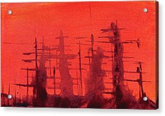Ghost Ships Acrylic Print