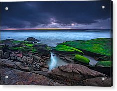 Ghost Tide Acrylic Print by Peter Tellone