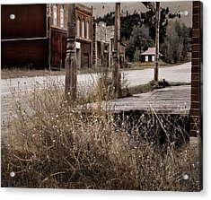 Ghost Town 2 Acrylic Print by Leland D Howard