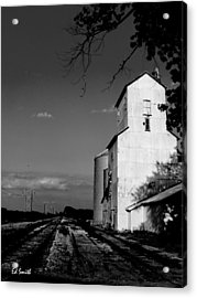 Ghost Town Acrylic Print by Ed Smith