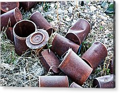 Ghost Town Garbage    Acrylic Print