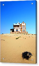Acrylic Print featuring the photograph Ghost Town Namibia by Riana Van Staden