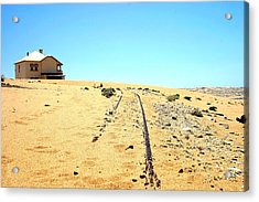 Acrylic Print featuring the photograph Ghost Town by Riana Van Staden