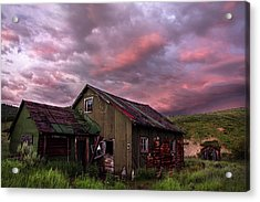 Ghost Town Sunset 1 Acrylic Print