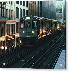 Ghost Train Acrylic Print