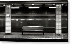 Acrylic Print featuring the photograph East Berlin Ghost Train by Silva Wischeropp