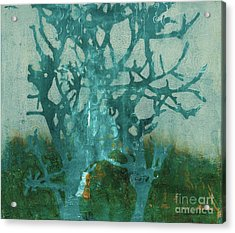 Ghost Tree Acrylic Print