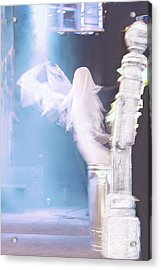 Ghost Acrylic Print by Viktor Savchenko