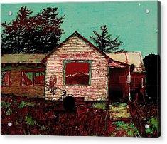 Ghost Within Acrylic Print by Carolyn Doe