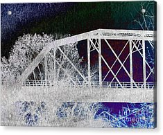 Ghostly Bridge Acrylic Print