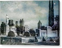 Ghostly Oakland Cemetery Acrylic Print