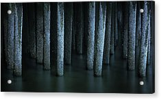 Ghostly Remnants Of The Province Lands Acrylic Print by Thomas Schoeller
