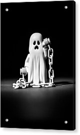 Ghostly Acrylic Print by Samuel Whitton