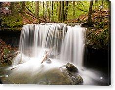 Ghostly Waterfall Acrylic Print by Douglas Barnett