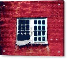 Ghostly Window Acrylic Print