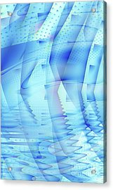 Ghosts In The Pool Acrylic Print