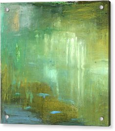Acrylic Print featuring the painting Ghosts In The Water by Michal Mitak Mahgerefteh