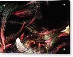 Ghosts Of Fireworks Past Acrylic Print by Jonathan Kotinek