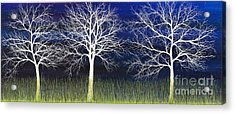 Ghosts Whispering In The Field Acrylic Print
