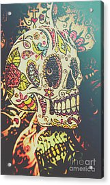 Ghoul Of Gothic Glam  Acrylic Print