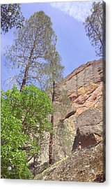 Acrylic Print featuring the photograph Giant Boulders by Art Block Collections