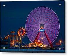 Giant Ferris Wheel Acrylic Print