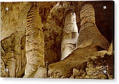 Giant Twin Domes At Carlsbad Caverns  Acrylic Print by Ruth  Housley