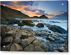 Giant's Causeway 1 Acrylic Print by Rod McLean