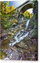 Giant's Staircase Under College Avenue Bridge Acrylic Print