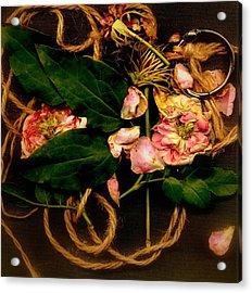 Giardino Romantico Acrylic Print by Andrew Gillette