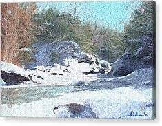 Gibou Falls Acrylic Print