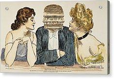 Gibson Girls, 1903 Acrylic Print by Granger