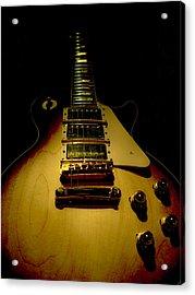 Guitar Triple Pickups Spotlight Series Acrylic Print