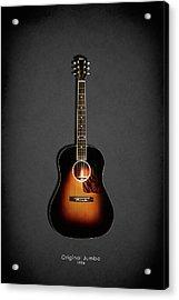 Gibson Original Jumbo 1934 Acrylic Print