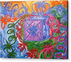 Gift Acrylic Print by Joanna Pilatowicz