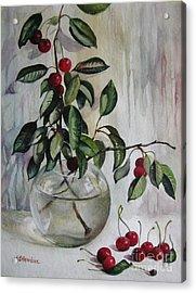Gift Of Nature Acrylic Print by Elena Oleniuc