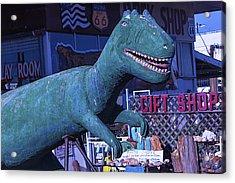 Gift Shop Dinosaur Route 66 Acrylic Print