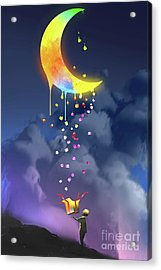 Gifts From The Moon Acrylic Print