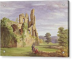 Gight Castle, 1851 Acrylic Print