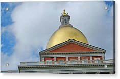 Gilded Dome Acrylic Print by JAMART Photography