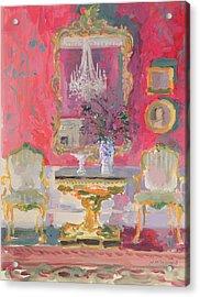 Gilded Mirror Acrylic Print
