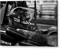 Gilles Villeneuve 1950-1982 Acrylic Print