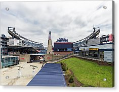 Gillette Acrylic Print