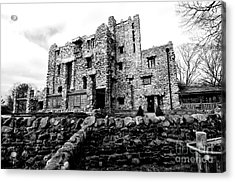 Gillette Castle Acrylic Print by Catherine Reusch Daley