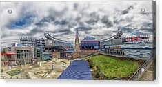 Gillette Stadium And The Hall At Patriot Place Acrylic Print