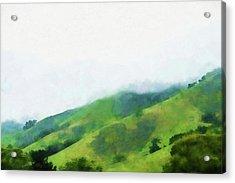 Gilroy Hills Acrylic Print