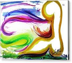 Gimel - Breathe Acrylic Print